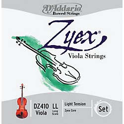 D'Addario Zyex 4/4 Viola String Set Long Scale (DZ410 LL)