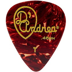 D'Andrea 351 Vintage Celluloid Guitar Picks One Dozen (TG351 .46TH)