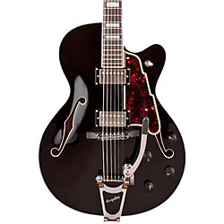 D'Angelico EX-175 Hollowbody Electric Guitar (DAEX175BLK)