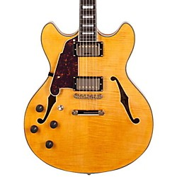 D'Angelico EX-DC/SP Left-Handed Semi-Hollowbody Electric Guitar (DAEXDCSPLEFTYNAT)