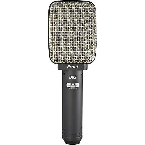 CAD D82 Figure-8 Ribbon Cabinet/Percussion Microphone-thumbnail