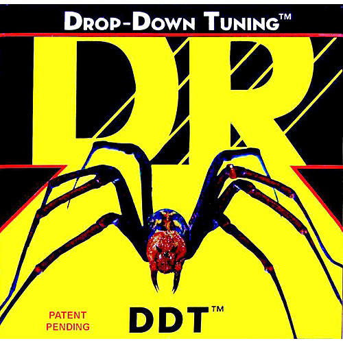 DR Strings DDT-10 Drop Down Tuning Medium Electric Guitar Strings 3-Pack-thumbnail