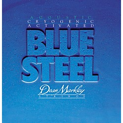 DEAN MARKLEY 2038 Blue Steel Cryogenic Medium Acoustic Guitar Strings (2038)