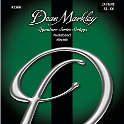 DEAN MARKLEY 2500 DT NickelSteel Electric Guitar Strings (2500)