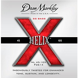 DEAN MARKLEY Helix HD SS Bass Guitar Strings (2614)