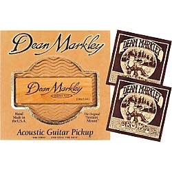 DEAN MARKLEY SC-1 Acoustic Pro Mag Pickup Bundle (3010A-2004 BUNDLE)