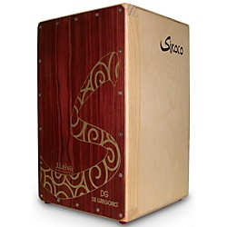 DG De Gregorio Siroco Folding Portable Cajon with Soft Travel Case (DGC11)