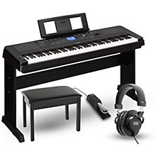 Yamaha DGX660 88-Key Portable Grand Piano Packages
