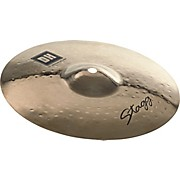 Stagg DH Dual-Hammered Brilliant Medium Splash Cymbal