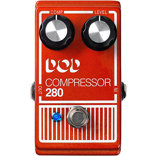 DigiTech DOD280 Compressor Guitar Effects Pedal-thumbnail