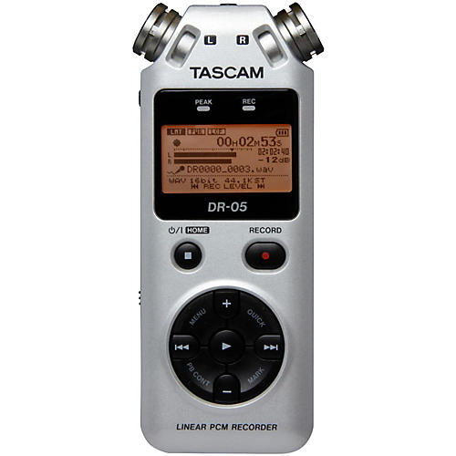 Tascam DR-05 Limited Edition Platinum Solid State Recorder-thumbnail