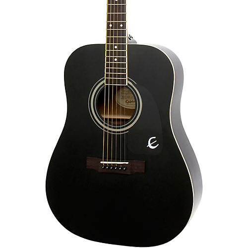 Epiphone DR-100 Acoustic Guitar Black-thumbnail