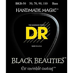 DR Strings BKB-50 Black Beauty Heavy Bass Strings (Bkb-50)