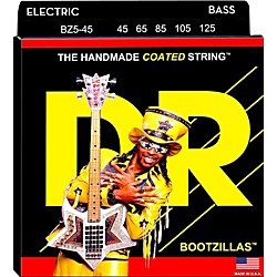 DR Strings BZ5-45 Bootzilla Signature 5-String Bass Strings (BZ5-45)