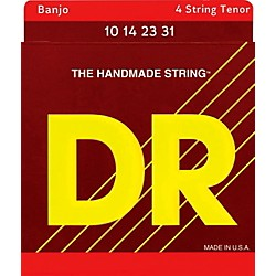 DR Strings Banjo Strings (Tenor) 10, 12, 15, 23 (BA-10)