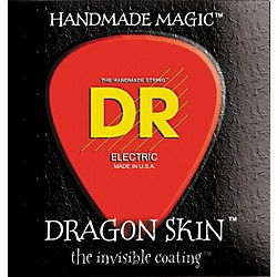 DR Strings DSB-40 Dragon Skin Coated Light 4-String Bass Strings (DSB-40)
