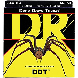 DR Strings Drop-Down Tuning Big-Heavy Guitar Strings (DDT-10/60)