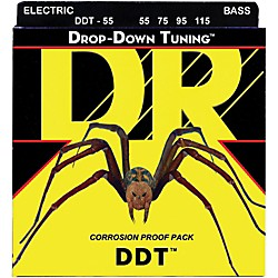 DR Strings Drop-Down Tuning Heavy Bass Strings (DDT-55)