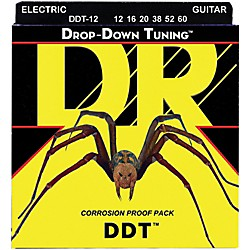 DR Strings Drop-Down Tuning XX-Heavy Guitar Strings (DDT-12)