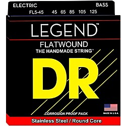 DR Strings Flatwound Legend 5-String Bass Medium (FLB5-45)