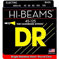 DR Strings Hi Beams Medium 5-String Bass .125 Low B String (MR5-45)