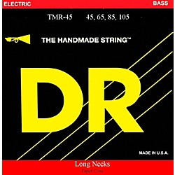 DR Strings Long Necks Taper Core Medium Light 4-String Bass Strings (TMLR-45)