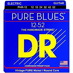 DR Strings PHR12 Pure Blues Nickel Extra Heavy Electric Guitar Strings (PHR-12)