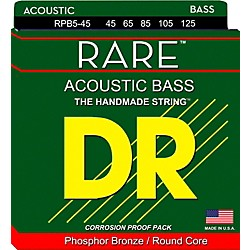 DR Strings Phosphor Bronze Acoustic 5-String Bass Strings (RPB5-45)