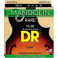 DR Strings Phosphor Bronze Mandolin Strings (MD-10)
