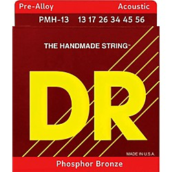 DR Strings Pre-Alloy Phosphor Bronze Medium Heavy Acoustic Guitar Strings (PMH-13)