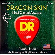 DR Strings DSA-12 Dragon Skin K3 Coated Acoustic Strings Medium