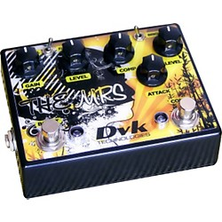 DVK The Mrs. Compressor and Boost Guitar Effects Pedal (DVK-MRS-1)