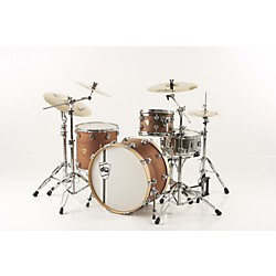 DW Classic Series 3-Piece Shell Pack Natural Mahogany with Chrome Hardware (DRKT55C300)