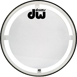 DW Coated Clear Bass Drum Head (DRDHCC20K)