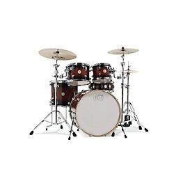 DW Design Series 5-Piece Lacquer Shell Pack with Chrome Hardware (DDLG2215TB-KIT)