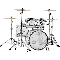 DW Design Series Acrylic 5-Piece Shell Pack with Chrome Hardware (DDAC2215CL Kit)