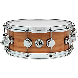 DW Exotic Fiddleback Eucalyptus Lacquer Snare (DREX5514SSC496)