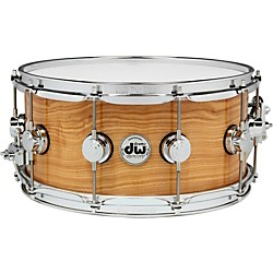 DW Exotic Figured Olive Ash Lacquer Snare (DREX6514SSC498)