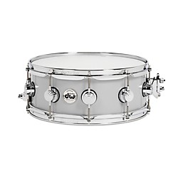 DW Thin Aluminum Snare Drum (DRVM5514SVC)