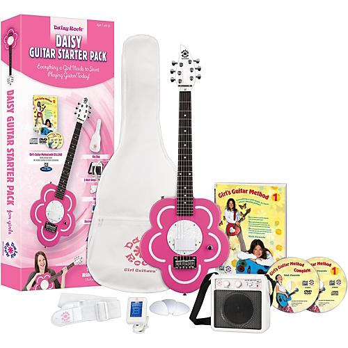 Daisy Rock Daisy Electric Short-Scale Electric Guitar Starter Pack-thumbnail