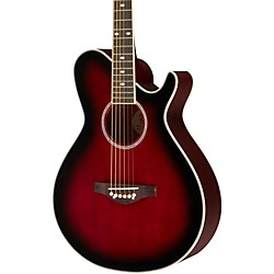 Daisy Rock Wildwood Artist Deluxe Acoustic-Electric Guitar (14-6277)