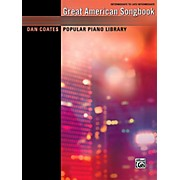 Alfred Dan Coates Popular Piano Library: Great American Songbook - Intermediate / Late Intermediate Book