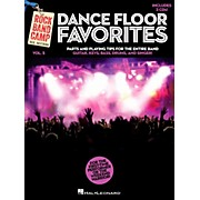 Hal Leonard Dance Floor Favorites - Rock Band Camp Vol. 5 (Book/2-CD Pack) Vocal Gtr Keys Bass Drums