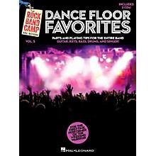 Hal Leonard Dance Floor Favorites - Rock Band Camp Vol. 5 (Book/2-CD Pack) Vocal Gtr Keys Bass Drums