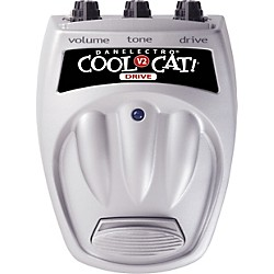 Danelectro Cool Cat CO-2 Overdrive V2 Guitar Effects Pedal (CO-2)