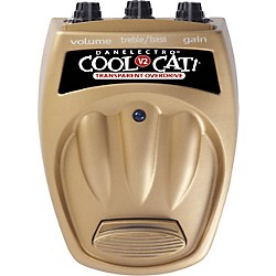 Danelectro Cool Cat CTO-2 Transparent Overdrive V2 Guitar Effects Pedal (CTO-2)