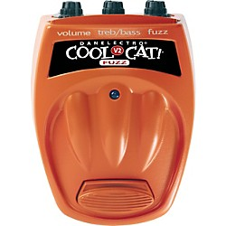 Danelectro Cool Cat Series CF-2 Cat Fuzz Guitar Effects Pedal (CF-2)