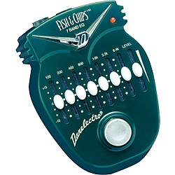 Danelectro DJ14 Fish and Chips 7-Band EQ Pedal (DJ-14)