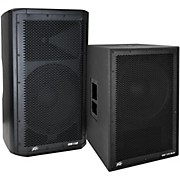 Peavey Dark Matter DM 112 Powered Speaker and DM115 Sub