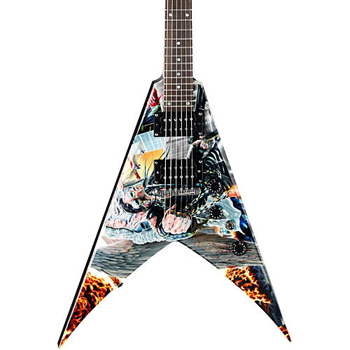 Dean Dave Mustaine VMNTX United Abomination Electric Guitar Graphic